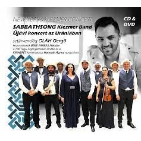 Sabbathsong Klezmer Band: Újévi koncert az Urániában CD+DVD