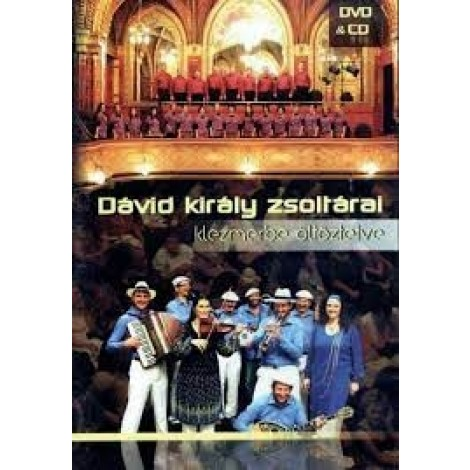 Sabbathsong Klezmer Band : Dávid király zsoltárai DVD+CD