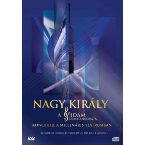 Vidám szimfónikusok: Nagy Király DVD+CD
