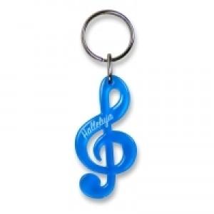 Kulcstartó-Halleluja-kék