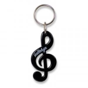 Kulcstartó-Halleluja-fekete