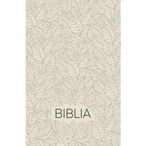 Biblia egyszerű fordítás-fehér leveles