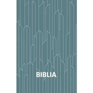 Biblia egyszerű fordítás- kék kristálymintás