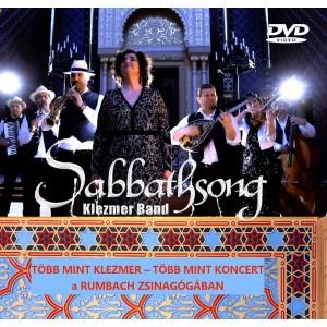 Sabbathsong Klezmer Band: Több mint koncert a Rumbach zsinagógában DVD
