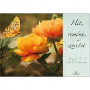 Hit, remény, szeretet naptár 2022