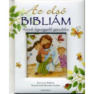 Az első bibliám - ablakos,fehér