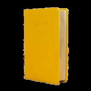 Szent Biblia mini- napsárga Patmos
