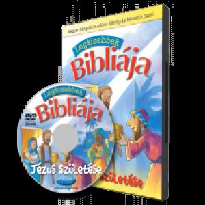Legkisebbek Bibliája -  Jézus születése  DVD